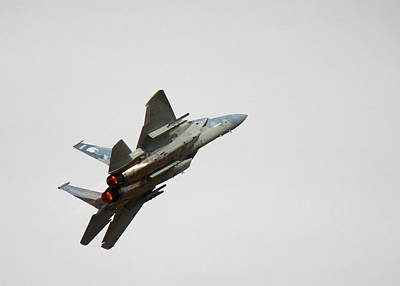 F15 Wall Art - Photograph - Eagle Afterburner 1 by Saya Studios