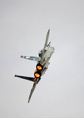 F15 Wall Art - Photograph - Eagle Afterburner 2 by Saya Studios
