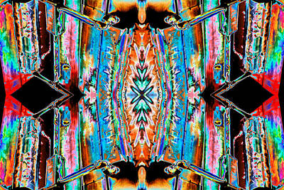 Cosmic Photograph - Eagle City Window 2013 by James Warren