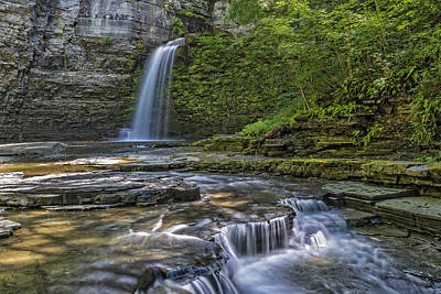 Photograph - Eagle Cliff Falls by Jim Vallee