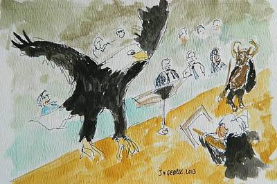Eagle Conductor Original by James George
