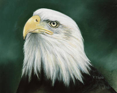 Pastel - Eagle Eye by Karen Cade