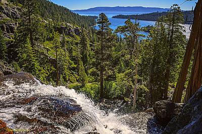 Mountains Photograph - Eagle Falls  Emerald Bay Lake Tahoe California by LeeAnn McLaneGoetz McLaneGoetzStudioLLCcom