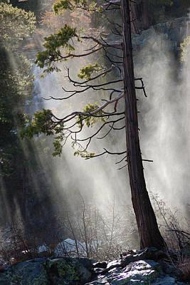 Photograph - Eagle Falls Mist by Ernie Claudio
