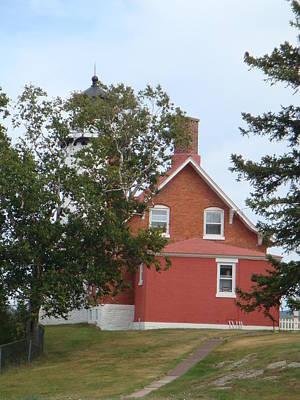 Photograph - Eagle Harbor Lighthouse 1 by Bonfire Photography