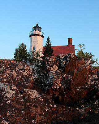 Photograph - Eagle Harbor Lighthouse 2 by George Jones