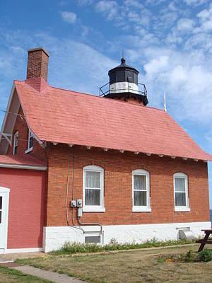 Photograph - Eagle Harbor Lighthouse 5 by Bonfire Photography