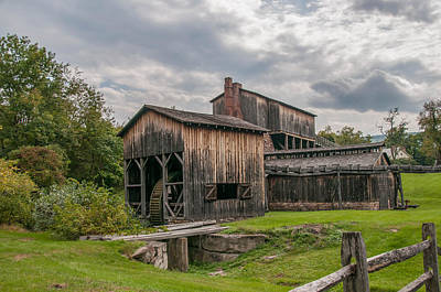 Photograph - Eagle Ironworks 18716c by Guy Whiteley