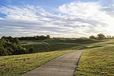 Skyscape Photograph - Eagle Knoll Golf Club - Hole Four by Cricket Hackmann