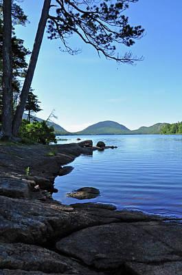Photograph - Eagle Lake Acadia National Park Maine by Glenn Gordon