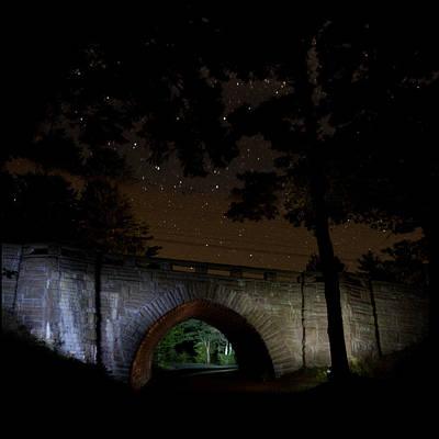 Photograph - Eagle Lake Bridge 6745 by Brent L Ander