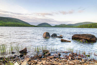Rustic Photograph - Eagle Lake by Donna Doherty