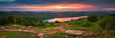 Photograph - Eagle Lake Sunset  by Emmanuel Panagiotakis