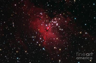 M 16 Photograph - Eagle Nebulai M16 In Serpens by John Chumack