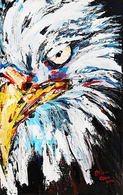 Eagle Art Print by Patricia Olson
