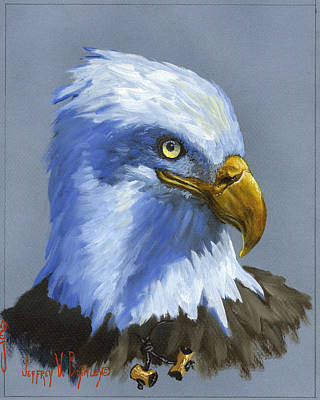 Painting - Eagle Patrol by Jeff Brimley