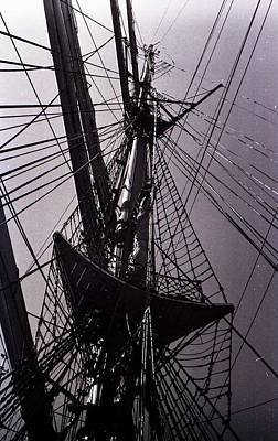 Photograph - Eagle Rigging by John Schneider
