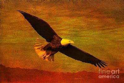 Eagle Spirit Art Print by Deborah Benoit