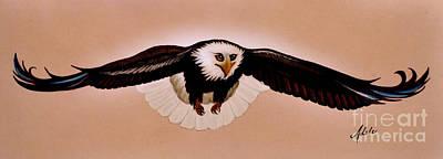 Eagle Stealth Print by Adele Moscaritolo