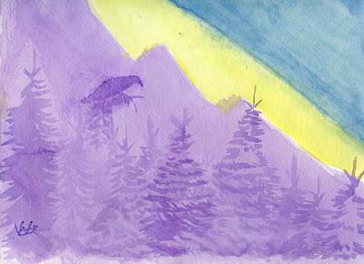 Eagle View Art Print