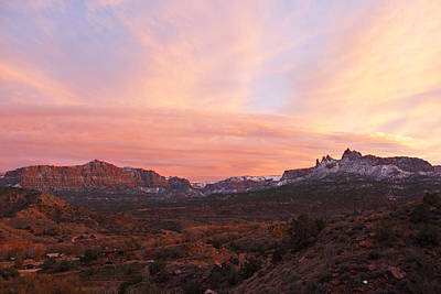 Photograph - Eagles Crags Sunset by Susan Rovira