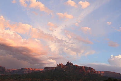 Photograph - Eagles Crags  by Susan Rovira