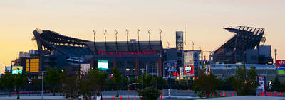 Linc Photograph - Eagles Football At The Linc by Bill Cannon