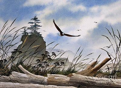Eagles Home Art Print