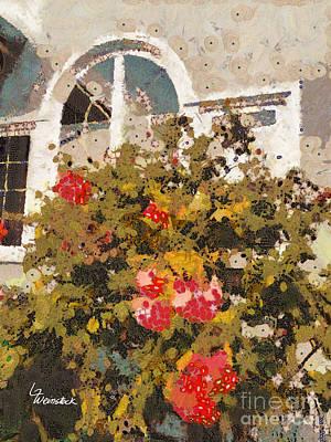Alameda Roses Original by Linda Weinstock