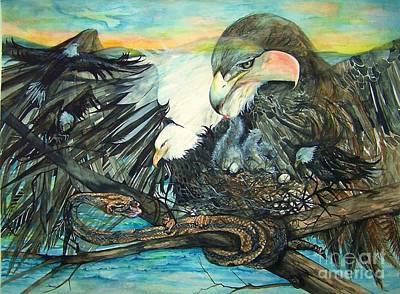 Painting - Eagles Nest by Laneea Tolley