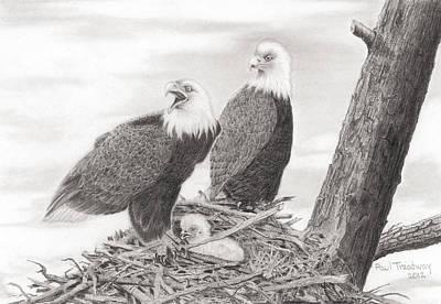 Eagles' Nest Original by Paul Treadway
