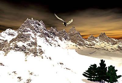 Eagles' Peak Art Print