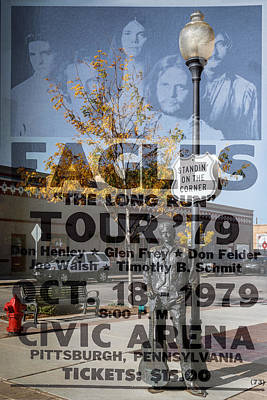 Photograph - Eagles The Long Run Tour by Wes and Dotty Weber