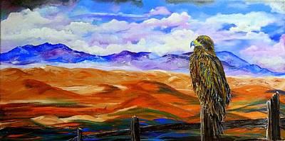 Eagles Watch Art Print
