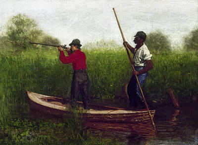 Eakins Bird Hunting, 1876 Art Print by Granger
