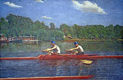 Eakins' The Biglin Brothers Racing Art Print