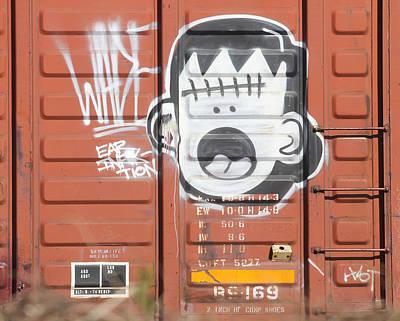 Photograph - Ear Infection Graffiti by Joseph C Hinson Photography