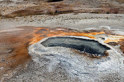 Photograph - Ear Spring Upper Geyser Basin by Fred Stearns