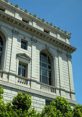 Photograph - Earl Warren Building - San Francisco by Connie Fox