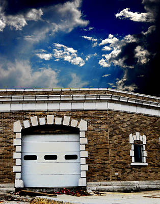 Art Print featuring the photograph Early 1900s St. Louis Firehouse by Maggy Marsh