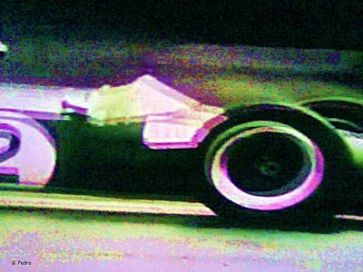 Photograph - Early 60's F1 Racer by George Pedro