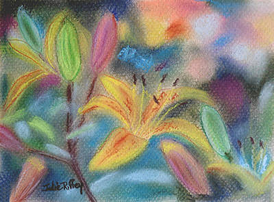 Pastel - Early Arrival Lily by Julie Brugh Riffey