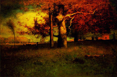 Painting - Early Autumn 1891 by Celestial Images
