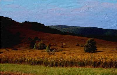 Painting - Early Autumn Field by Tom Tunnicliff