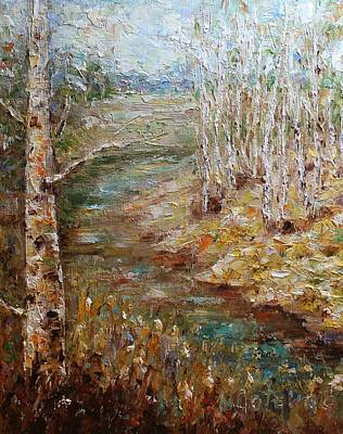Painting - Early Autumn by Mirjana Gotovac
