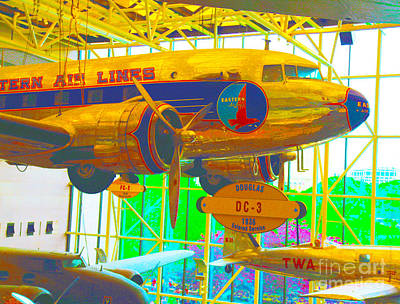 Dc3 Digital Art - Early Commercial Aviation by Dan Hilsenrath
