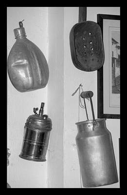 Photograph - Early Farm Items by Caroline Stella