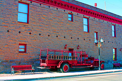 Early Fire Truck Day Original