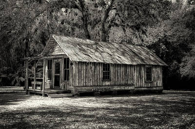 Photograph - Early Florida Cottage - Circa 1903 by Frank J Benz