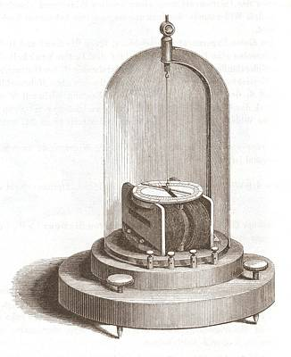 Torsion Photograph - Early Galvanometer by King's College London